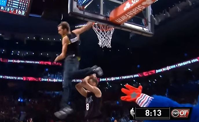 niepokonany x topowe marki sklep Jordan Kilganon Had Best Dunk at NBA All Star Game