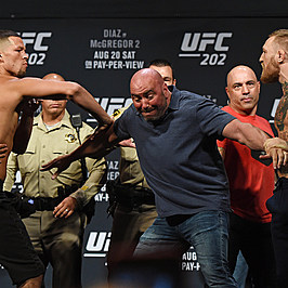 UFC 202 - Weigh-in