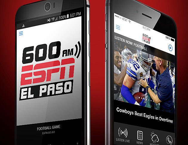 Introducing: The 600 ESPN El Paso Mobile App - 600 ESPN El Paso