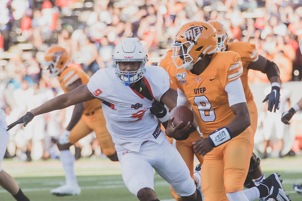 Texas Tech 38, UTEP 3: Miners Struggle to Execute on Offense