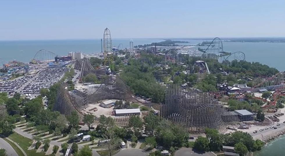 Fly Over Cedar Points Mammoth New Top Secret Roller Coaster