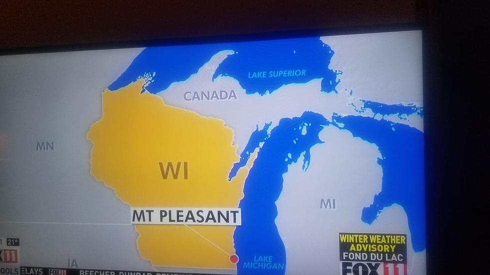 Map Of Upper Peninsula Michigan And Canada This Wisconsin TV Station is Very Confused About Michigan's UP