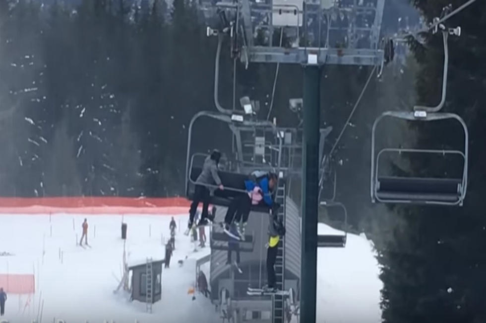 WATCH: Teens Rescue Boy Hanging From Ski Lift