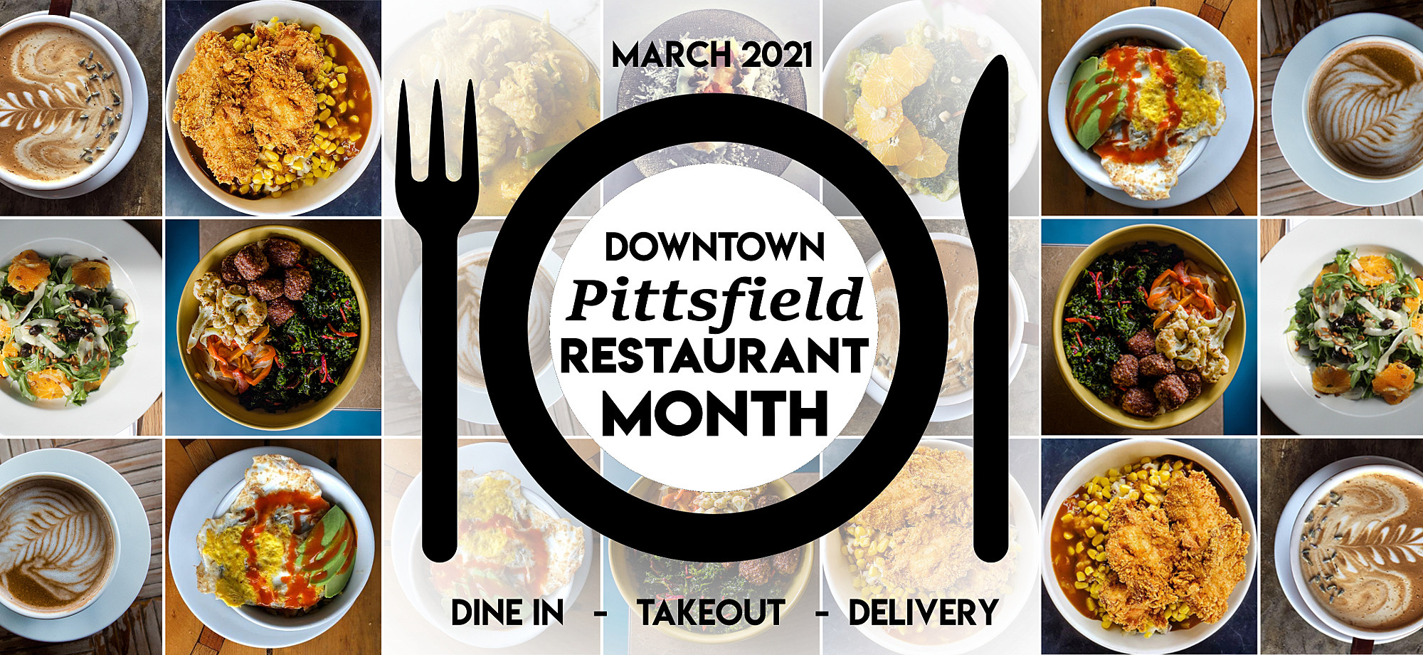 "Downtown Pittsfield Declares March ""Restaurant Month"""