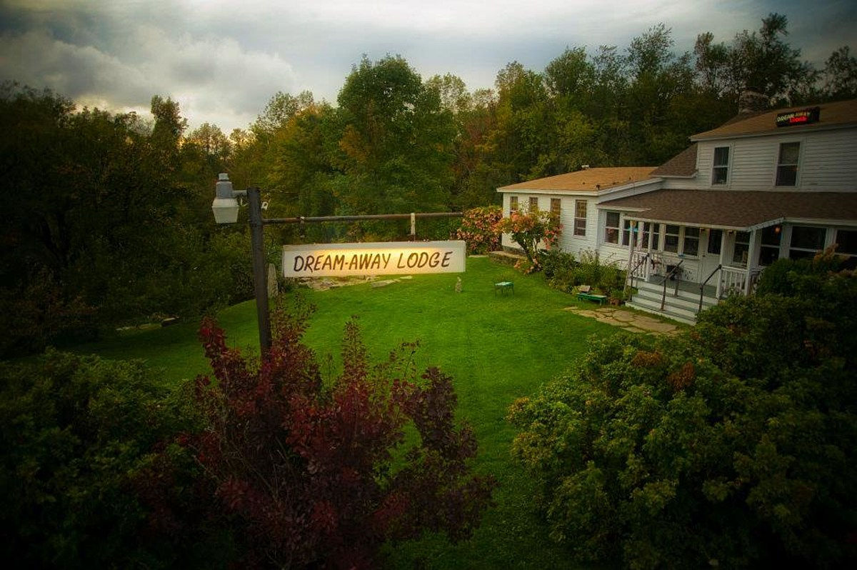 Iconic 'Dream Away Lodge' in Becket, MA For Sale March 20