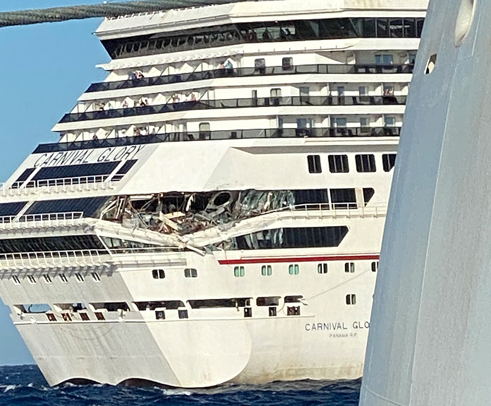 Breaking Two Carnival Cruise Ships Collide In Mexico Damage Reported