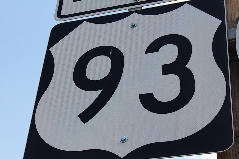 Crash Blocking Traffic South of Rogerson on Highway 93