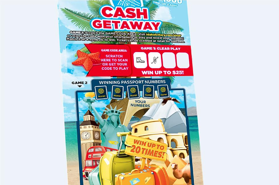 Idaho Lottery Launches Transparent Scratch Ticket