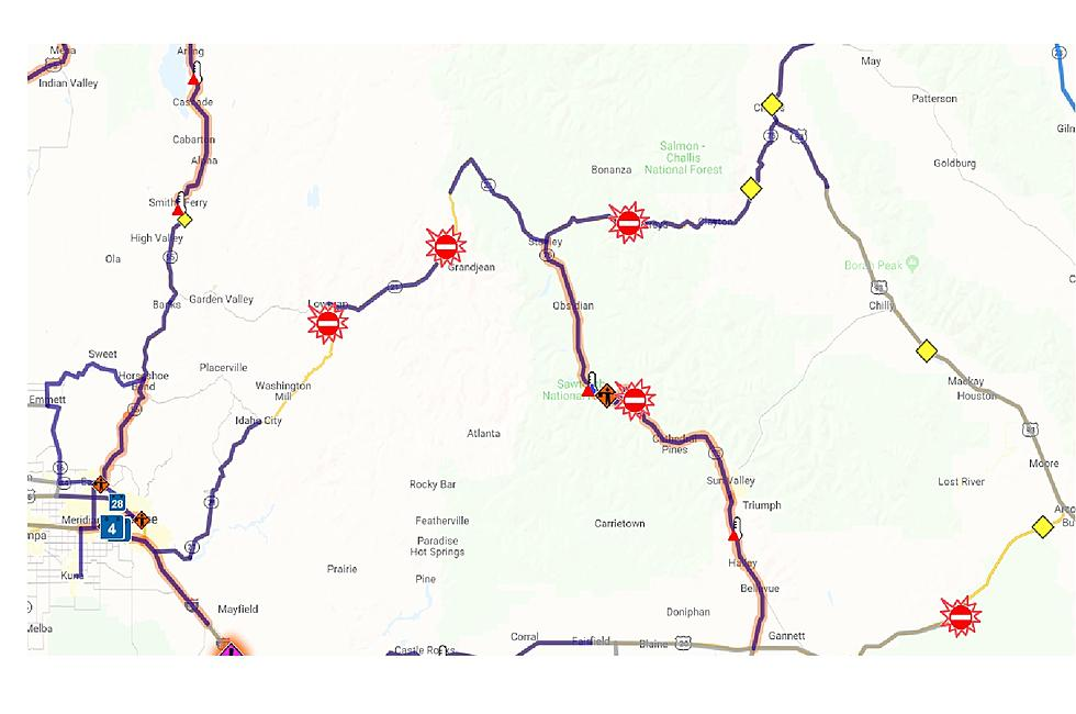 idaho road condition map Stanley Not Accessible Due To Road Closures idaho road condition map