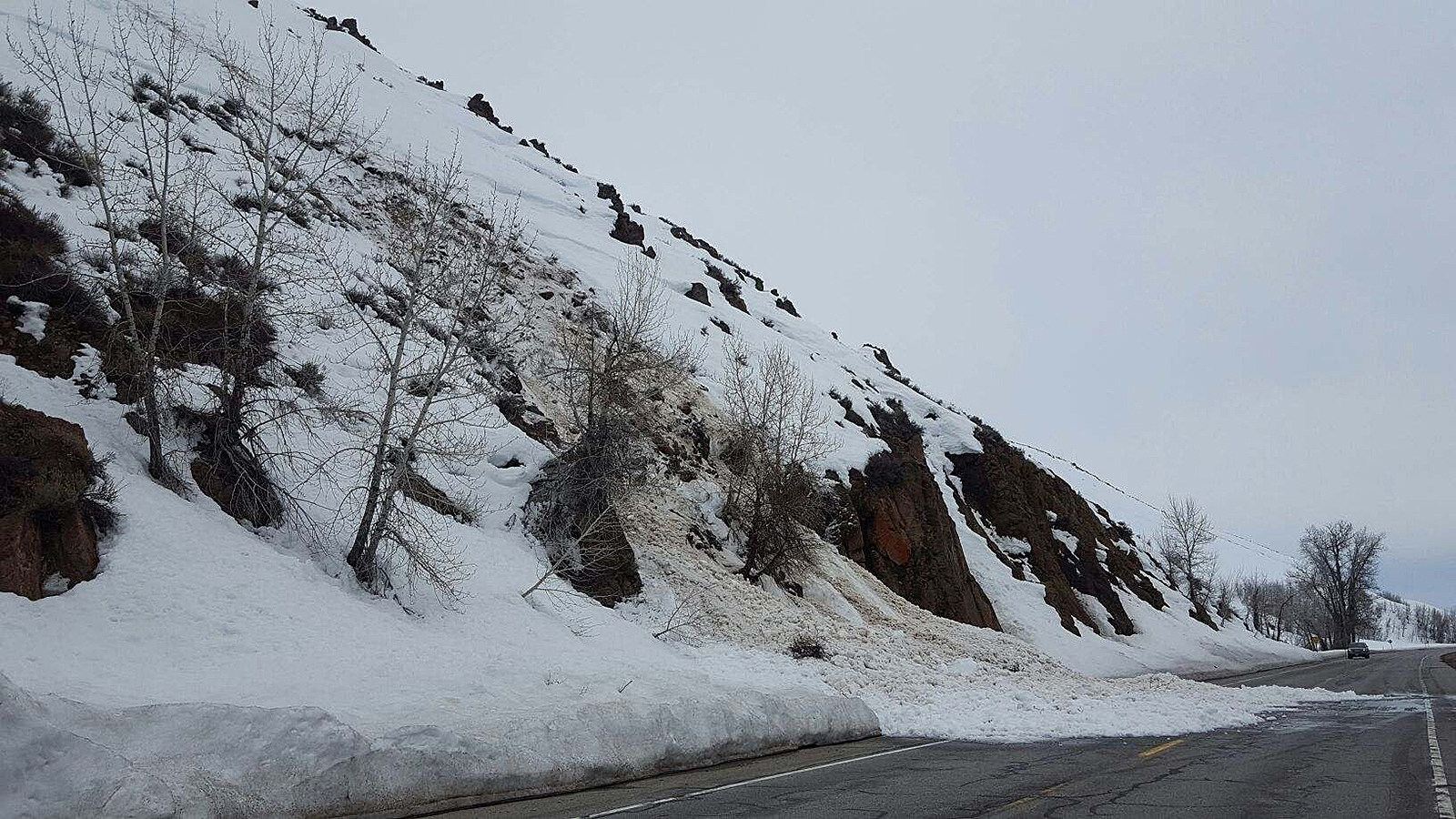 Idaho Roads Closed Due to Avalanches, Mudslides, and Landslides