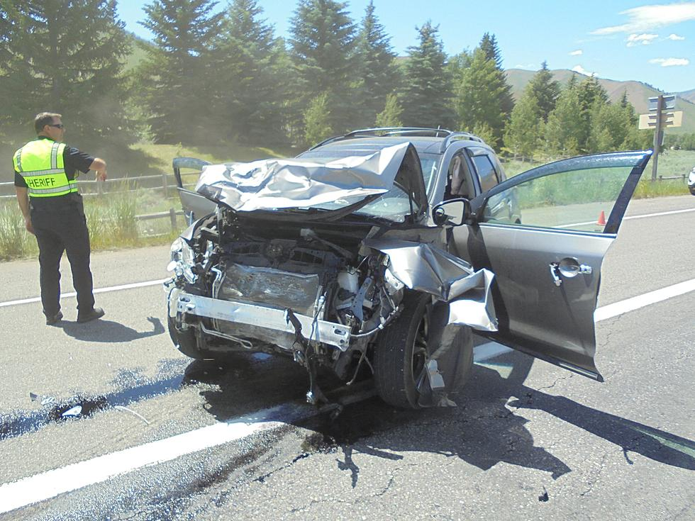 Ketchum Woman Thrown from Car in Two Vehicle Crash