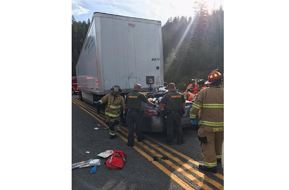 Trailer Disconnects from Truck, Crashes Into Sedan in North