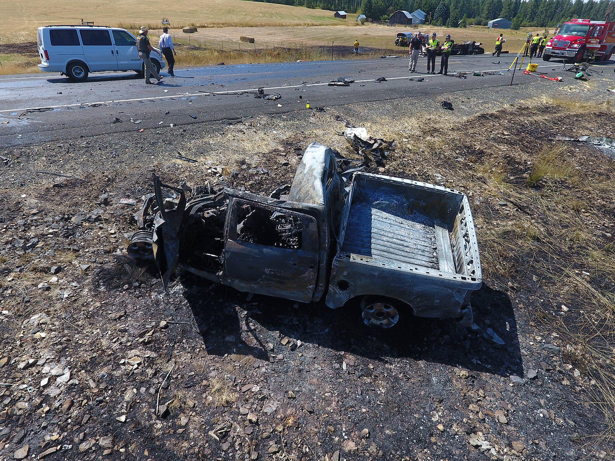 Fatal Fiery Crash in North Idaho