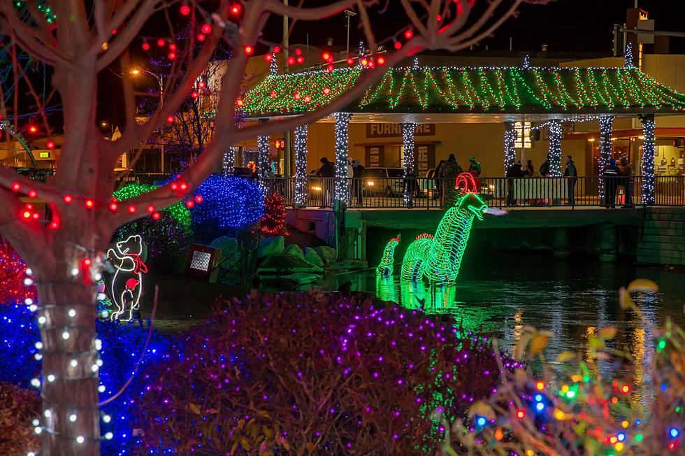 Caldwell Christmas Lights 2020 Caldwell Lights Up Creek Side as Winter Wonderland