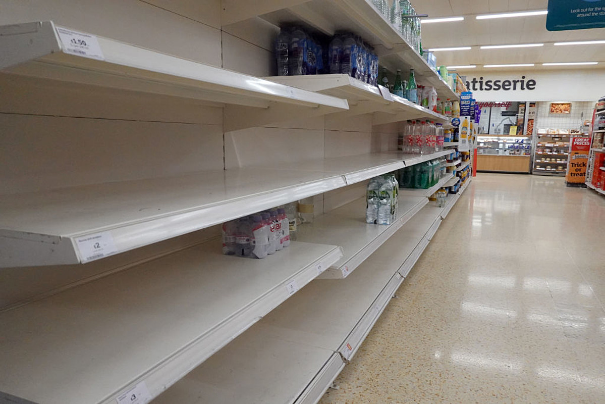 newsradio1310.com: There are Going to be Even More Empty Grocery Shelves in Idaho