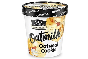 So Delicious Oatmilk Oatmeal Cookie Ice Cream