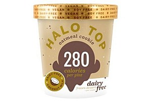 Halo Top Dairy-Free Oatmeal Cookie