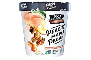 So Delicious Peachy Maple Pecan Cashewmilk Frozen Dessert