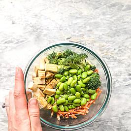 Teriyaki Tofu Bowl