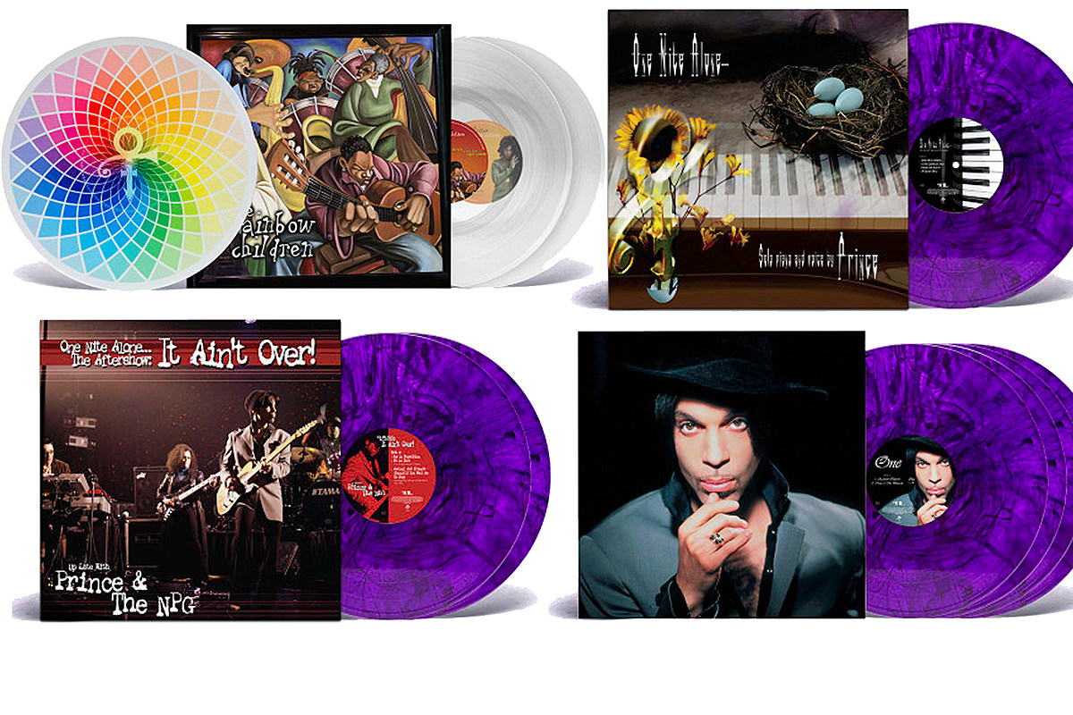 Prince 'One Nite Alone,' 'Rainbow Children' Reissues Announced