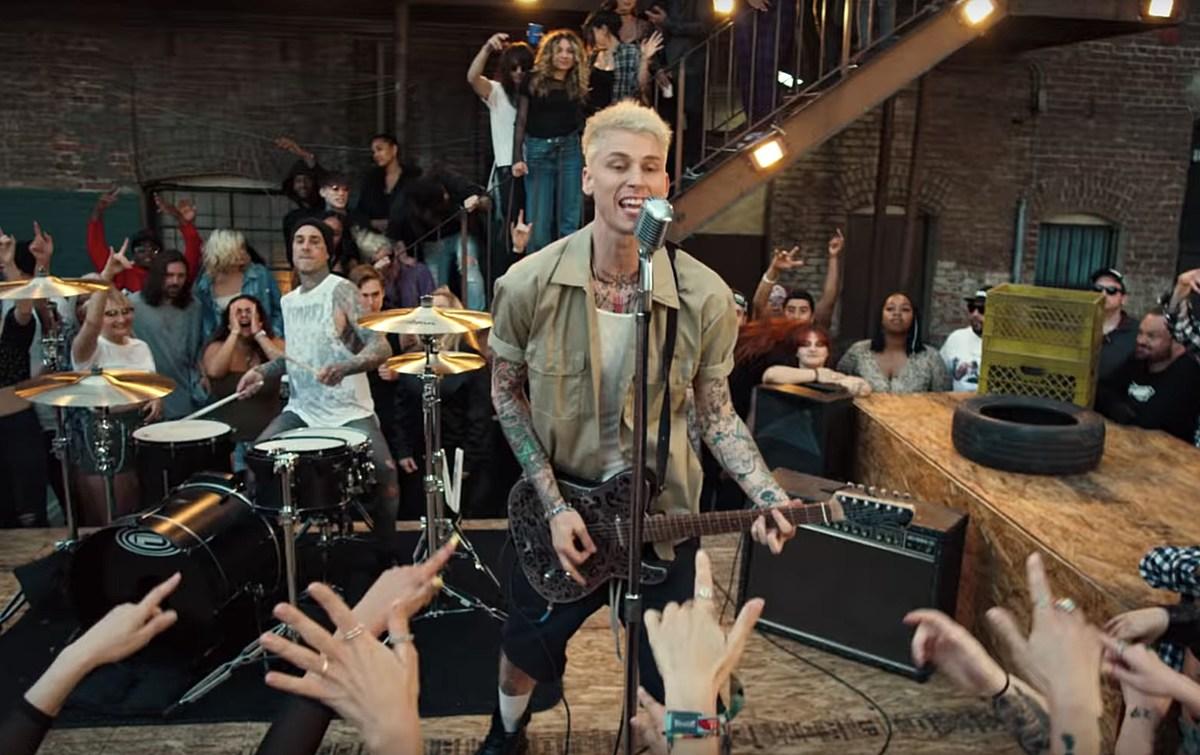 MGK Reveals Title of New Pop-Punk Album With Travis Barker