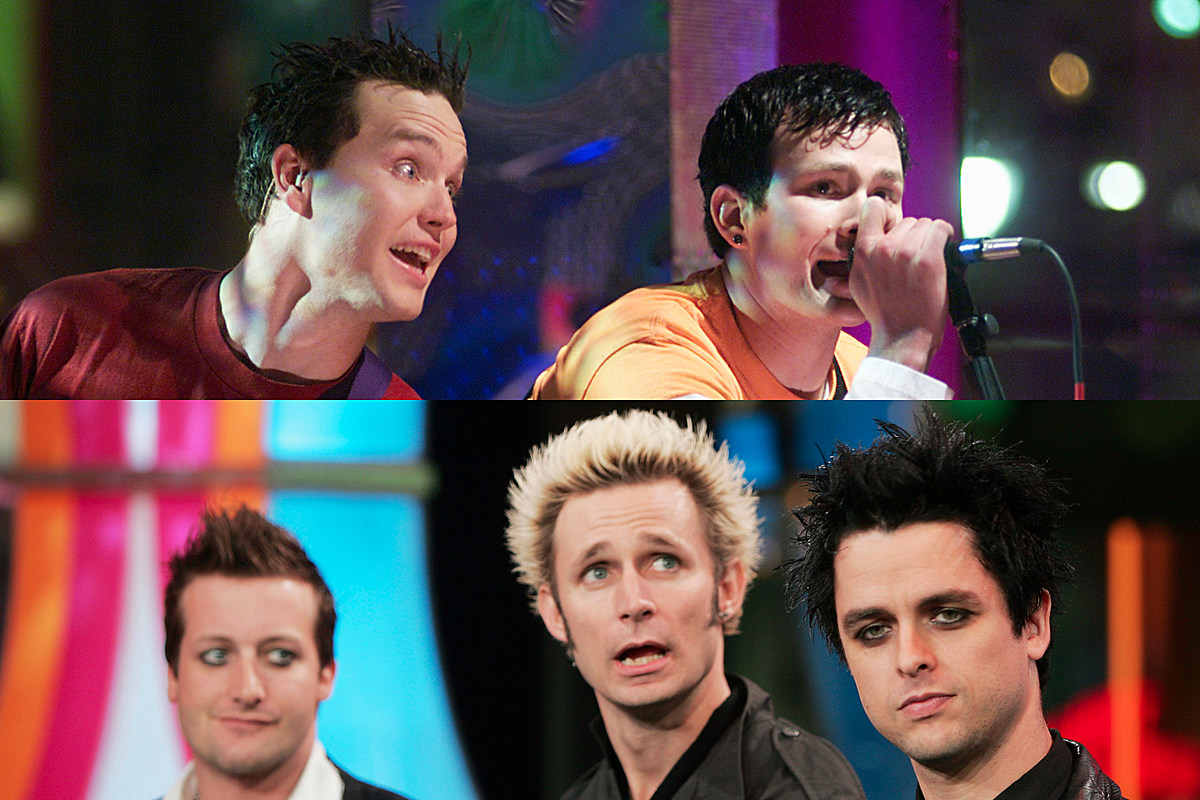 blink 182 green day split screen Mark Hoppus: This Green Day Song Inspired 'What's My Age Again'