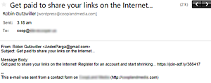 Getting Revenge On Email Spammers