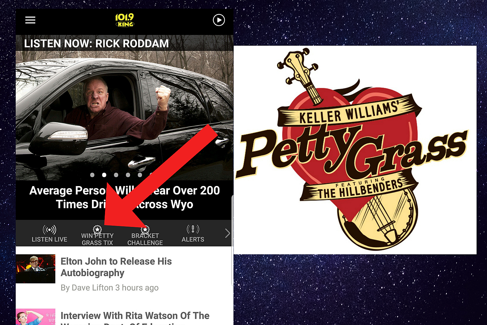 Get the King FM App for a Chance to Win 'Petty Grass' Tickets