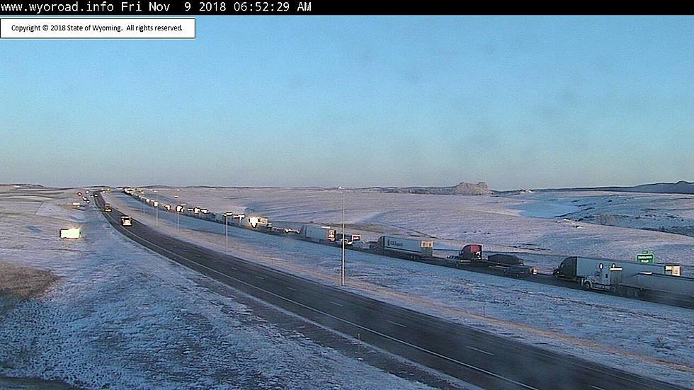 UPDATE: Westbound I-80 Between Cheyenne and Laramie Now Open
